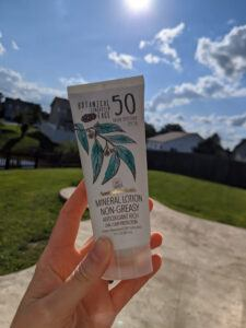 Australian Gold Botanical SPF 50 Tinted Face Sunscreen Lotion