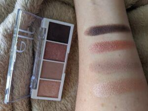 Rose Water eyeshadow swatches