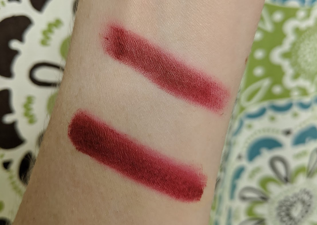 eyeshadow swatches with vs. without primer