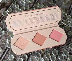 Aether Beauty Rose Quartz Crystal Charged Cheek Palette