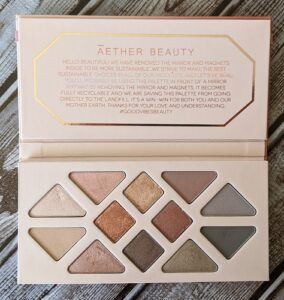 Aether Beauty Rose Quartz Crystal Gemstone Palette